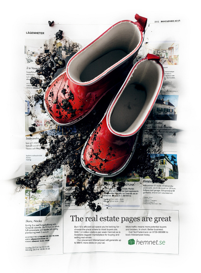 The real estate pages are great - Creative Oskar Hellqvist