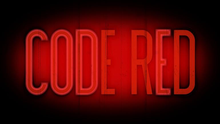 Code Red Film Logo - neveroddoreven.tv