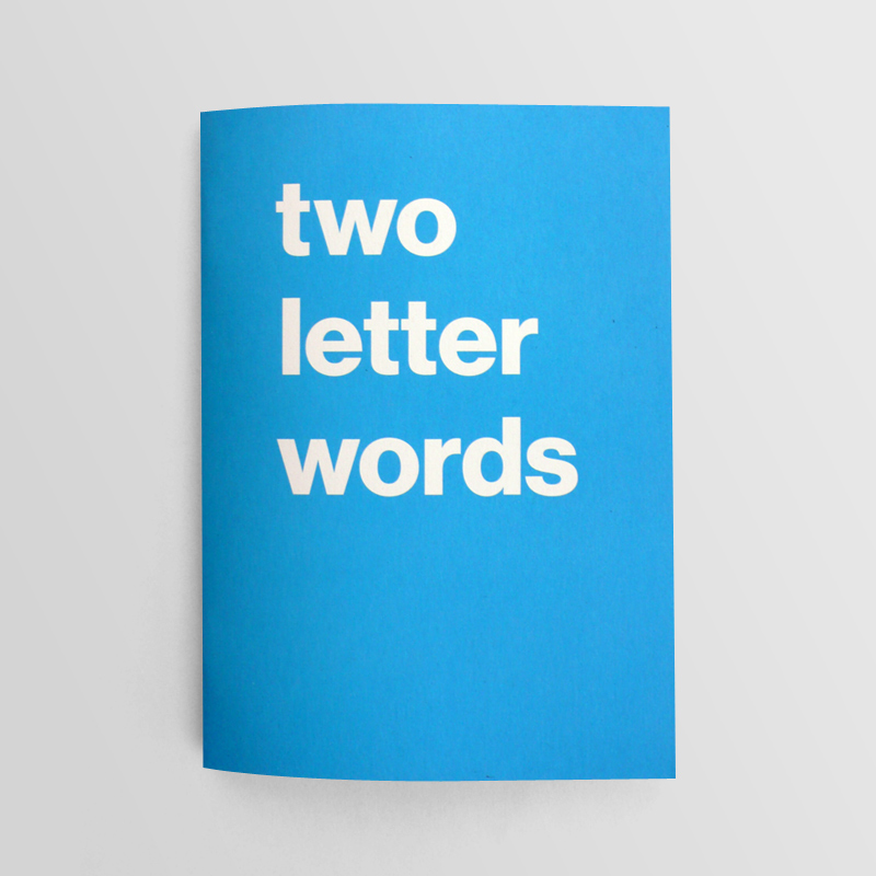 Two Letter Words Alexfuller