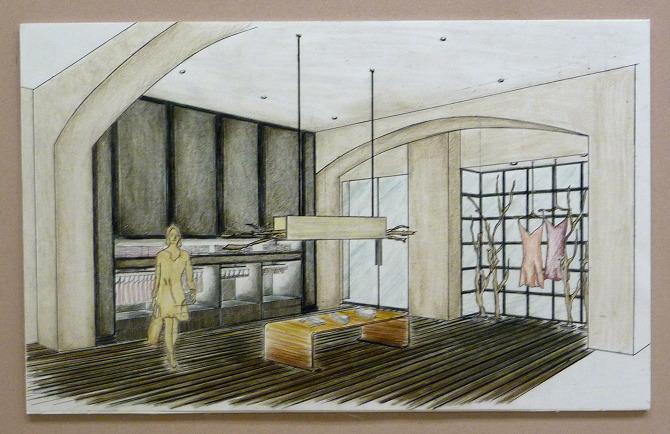 Hanro Intimate Apparel Retail Space Rhana Katz Interior